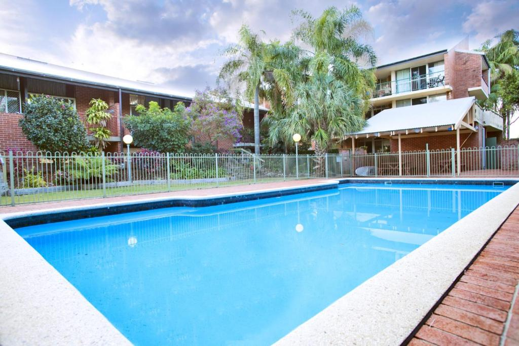 The swimming pool at or near Sassafras - Unit 11 - Coffs Harbour