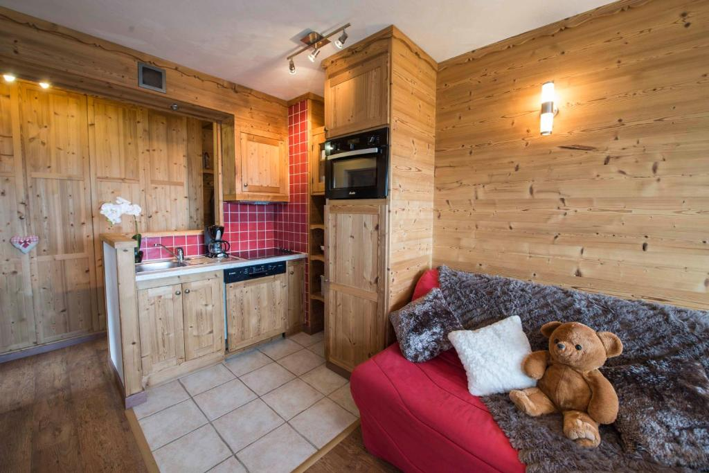 A kitchen or kitchenette at Vanoise