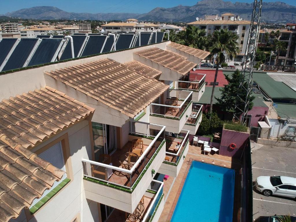 A bird's-eye view of Aparthotel Residencial Vidalbir
