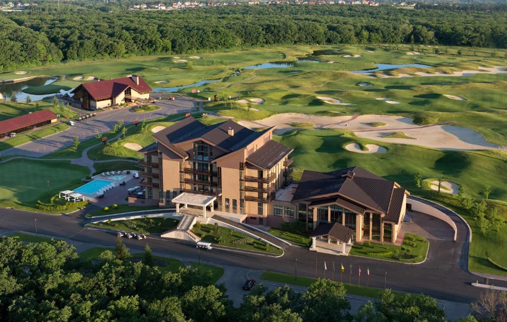 Superior Golf and SPA Resort с высоты птичьего полета