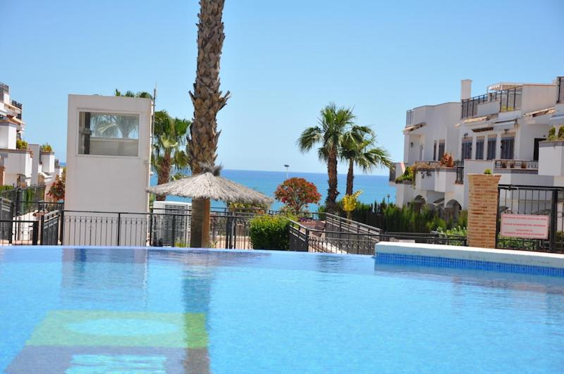 The swimming pool at or near Cozy Apartment in Azul Beach La Mata Torrevieja