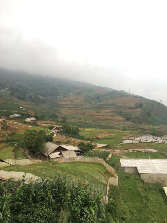 A bird's-eye view of Cầu MỘC homestay