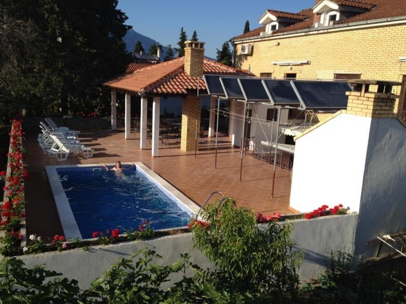 A view of the pool at Korcula Apartments Iliskovic or nearby