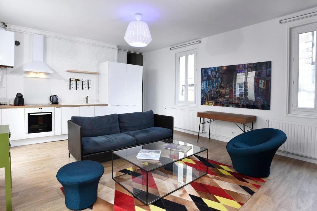 Superbe appartement moderne Rouen hyper centre