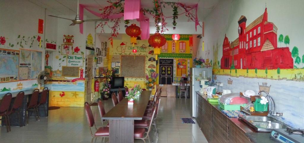 Restaurant ou autre lieu de restauration dans l'établissement Old Town Guest House