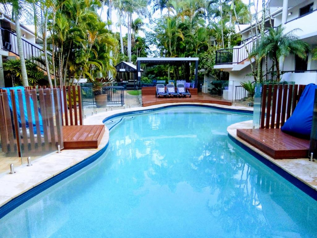 The swimming pool at or near Outrigger Bay
