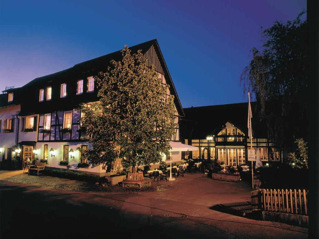 Landhotel Gasthof Willecke im Winter
