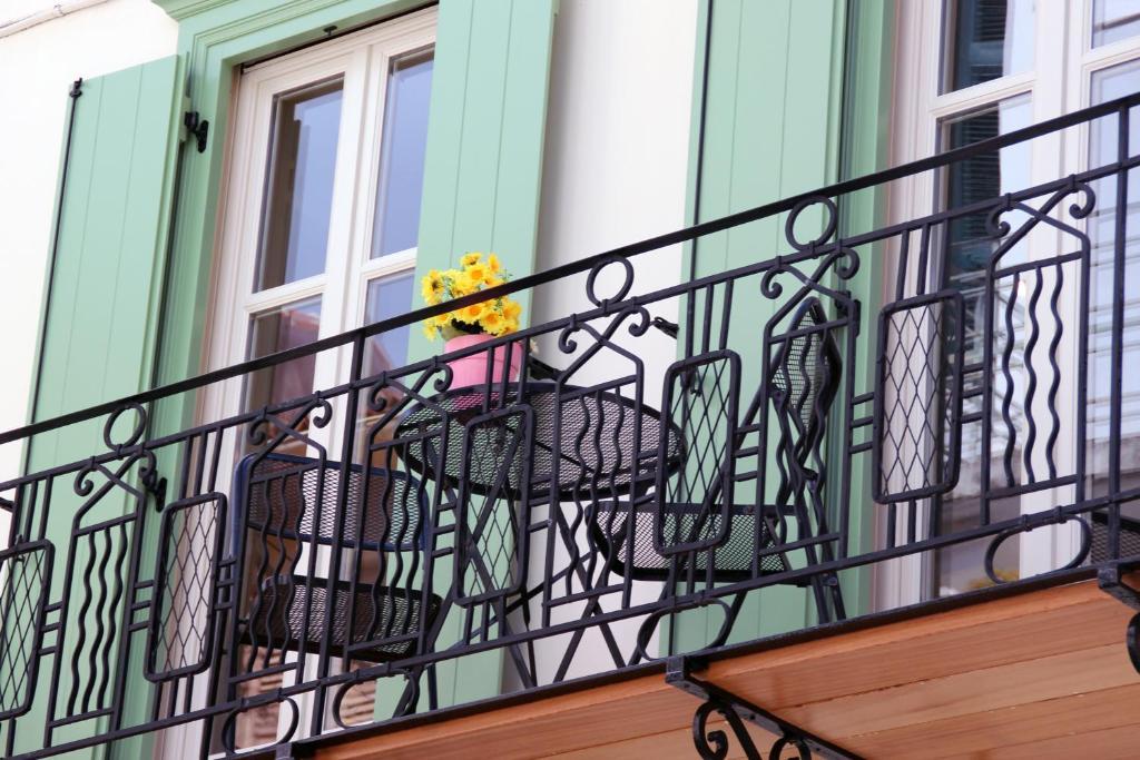 Balcone o terrazza di Pension Isabo