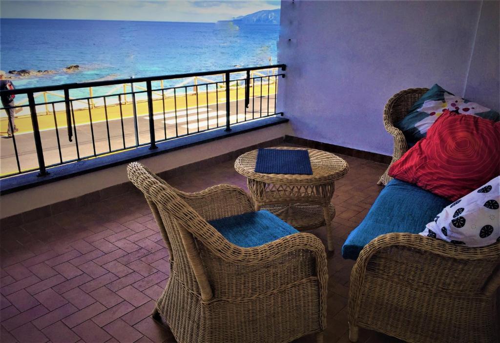 A balcony or terrace at Casa Elio