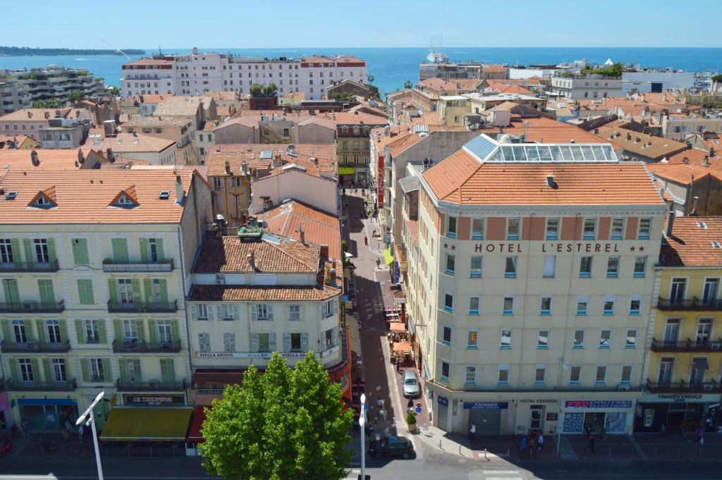 A bird's-eye view of L'Esterel