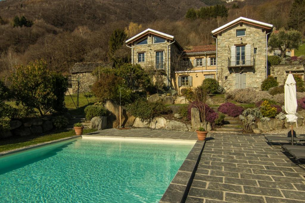 The swimming pool at or near Agriturismo Tre Terre