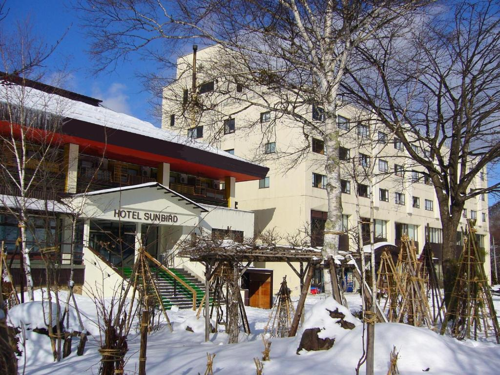 Hotel Sunbird during the winter