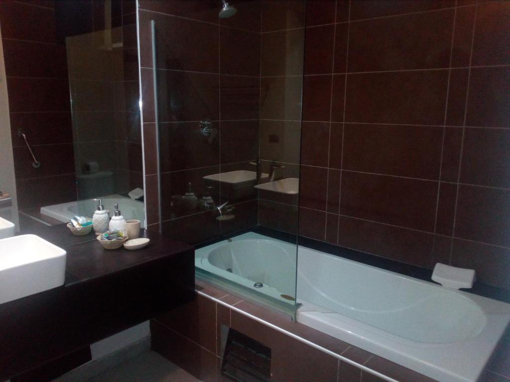 Un baño de Urqu Hotel & Boutique