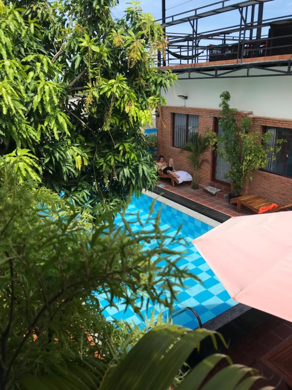 The swimming pool at or near Mui Ne Garden Apartment