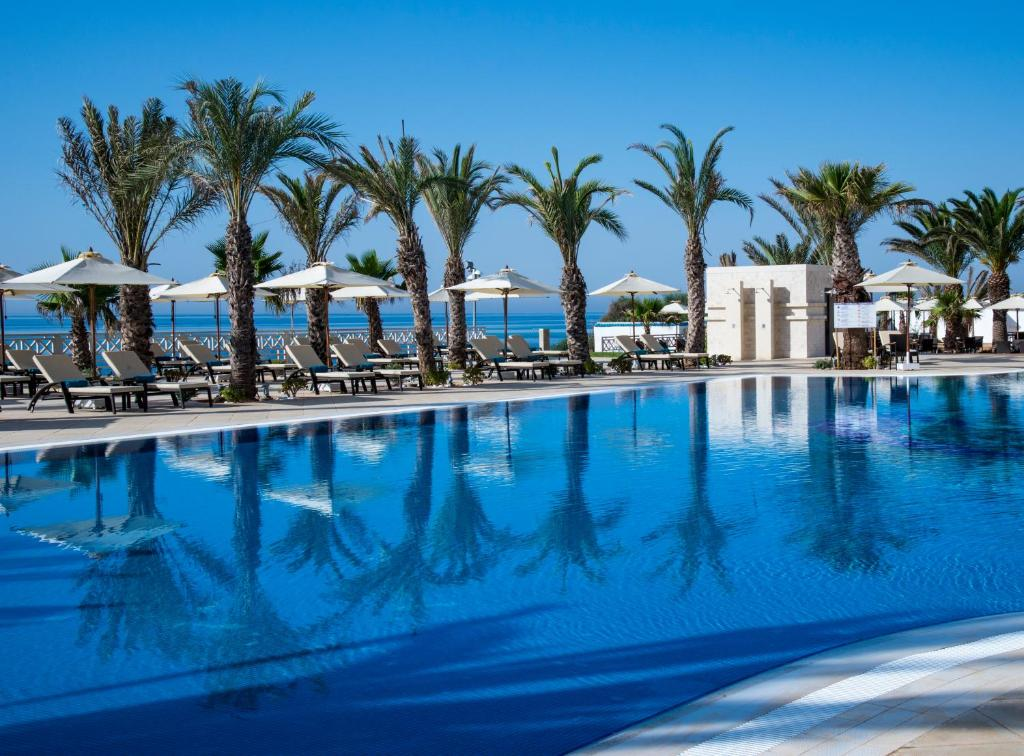 The swimming pool at or near Radisson Blu Resort & Thalasso Hammamet