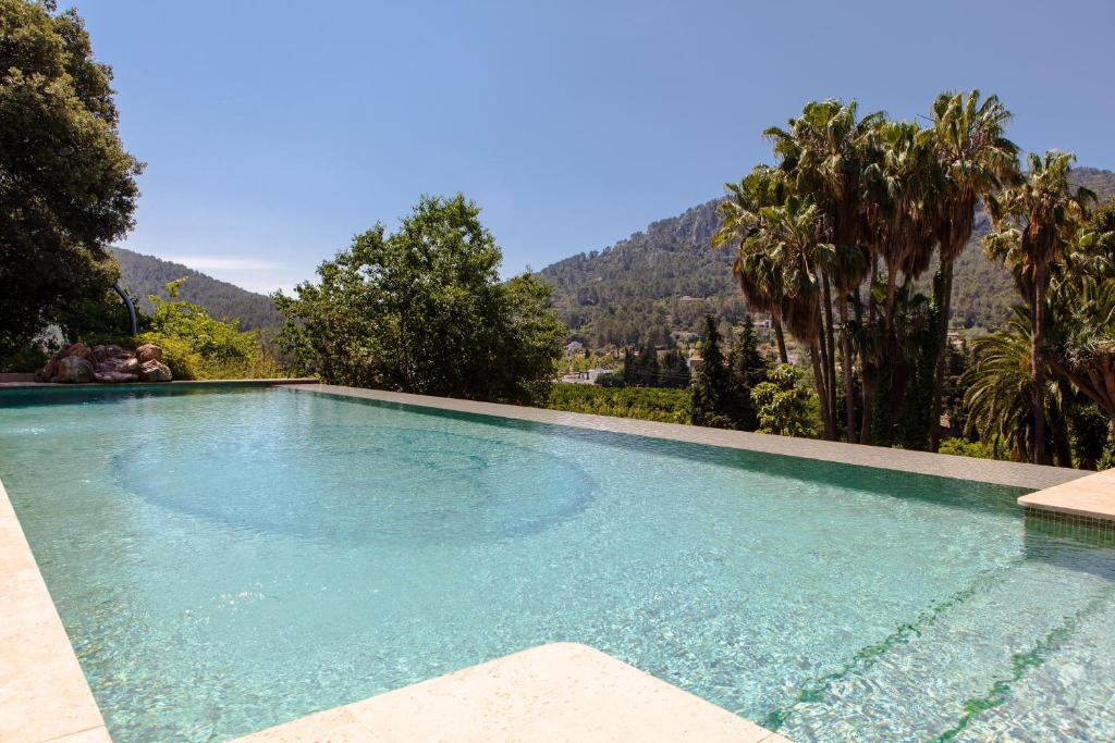 The swimming pool at or near Agroturismo Son Galceran
