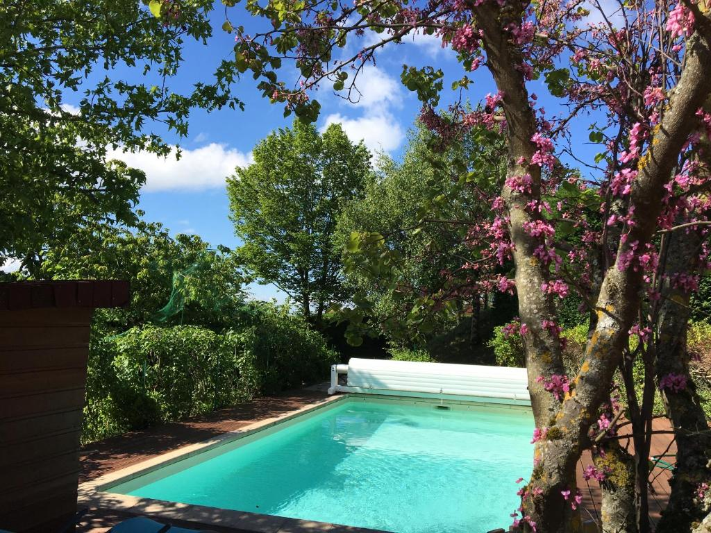 The swimming pool at or close to Maison d'Hôtes L'Escale Du Loup Blanc