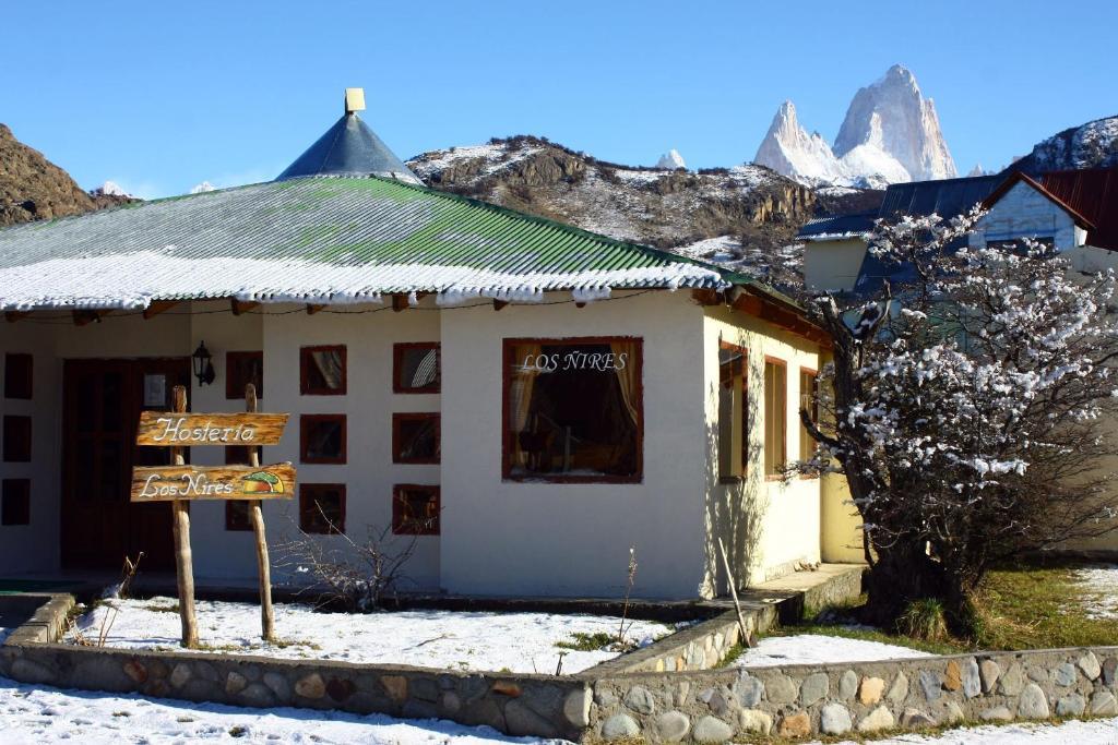Hosteria Los Ñires durante el invierno