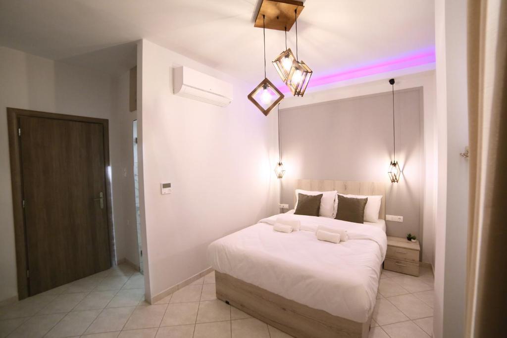 Кровать или кровати в номере Idi Hotel