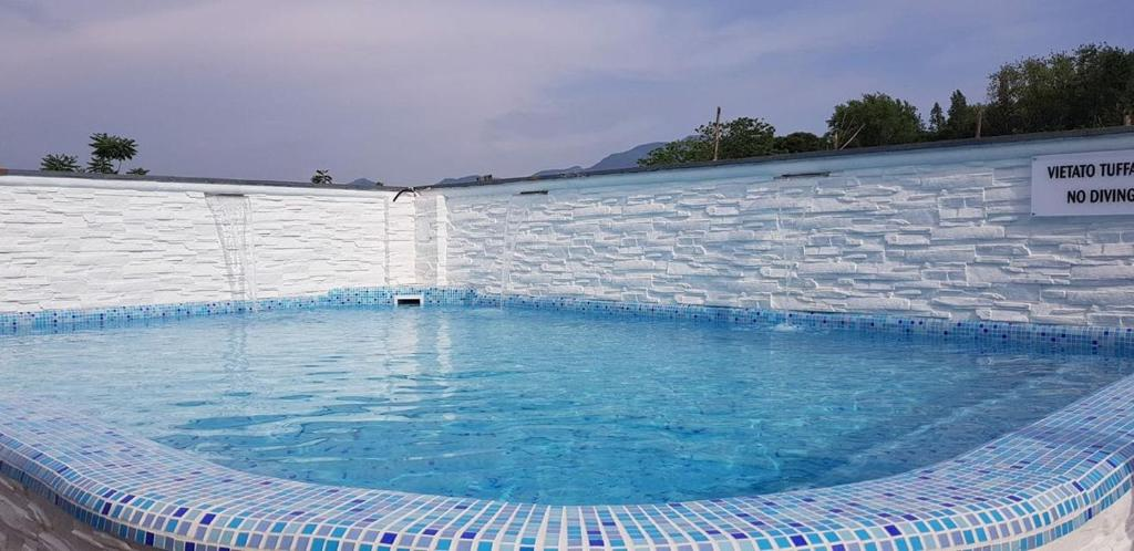 The swimming pool at or near Albergo Pompei Valley