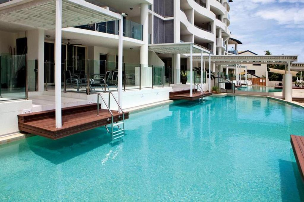 The swimming pool at or near Waters Edge Apartment Cairns