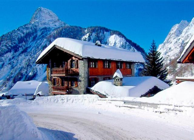 Hotel Dente Del Gigante зимой