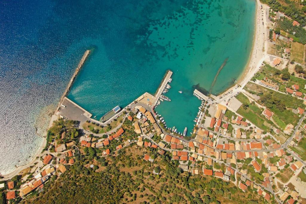 A bird's-eye view of Ionian Riviera Hotel