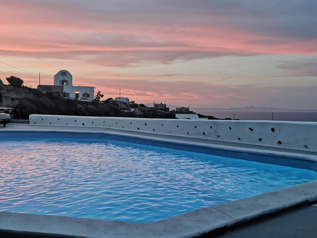 The swimming pool at or near Belle Etoile Villas