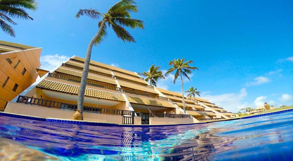 Het zwembad bij of vlak bij Cumbuco Ocean View