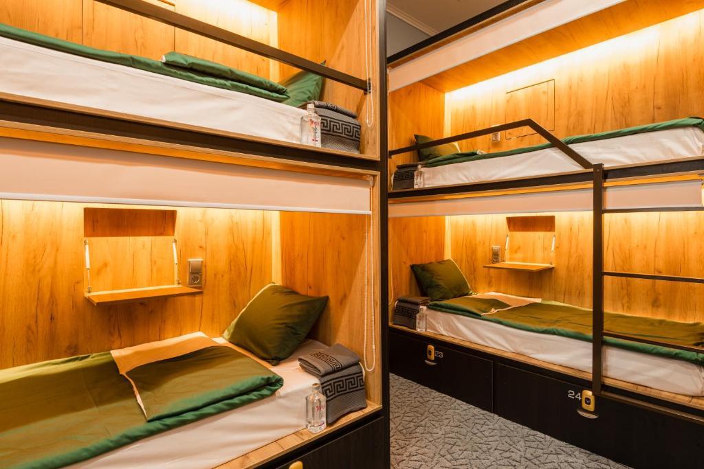 Кровать или кровати в номере M&D HOST