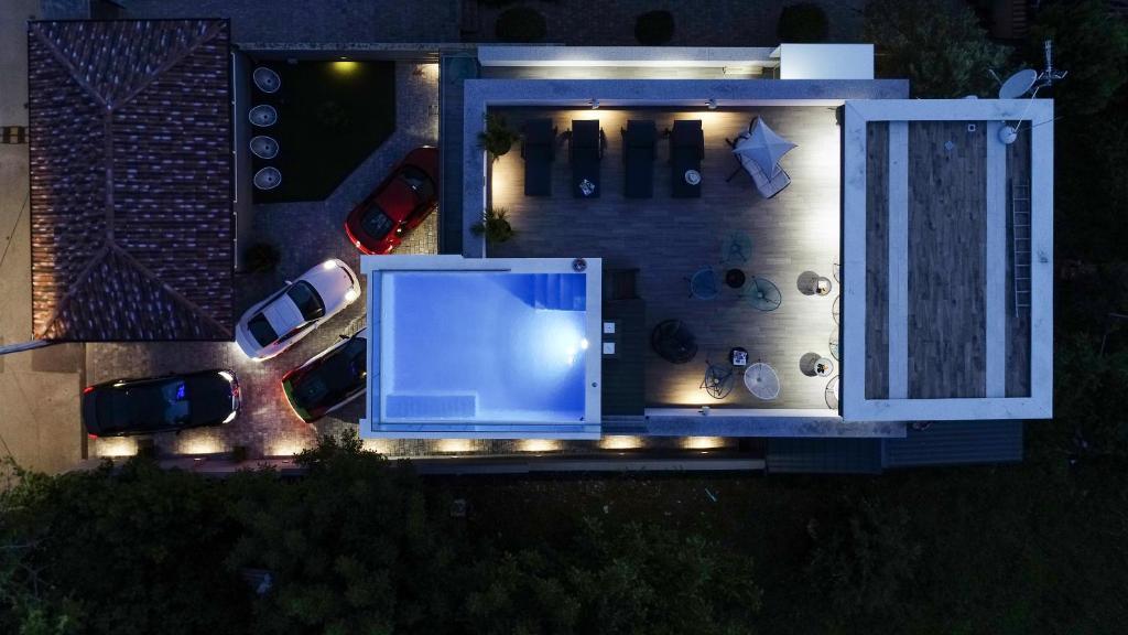 The floor plan of Luxury Rooms LaVie