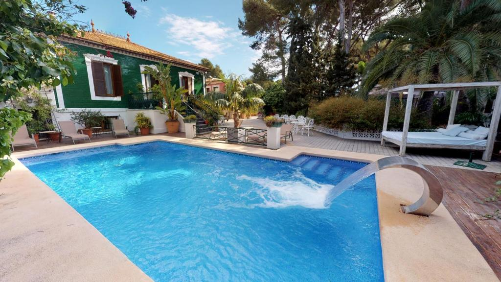 The swimming pool at or close to Hotel Boutique MR Palau Verd - Adults Only