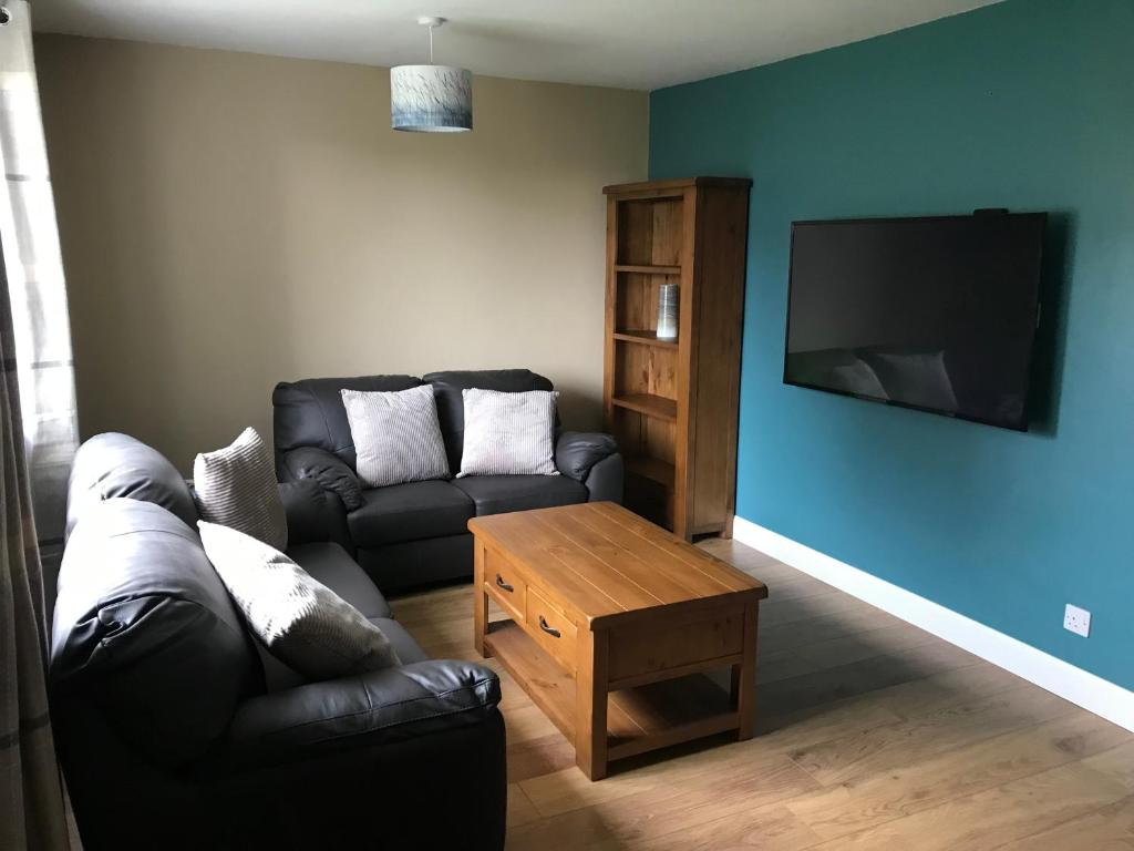 A seating area at Heb Holiday, Self Catering Accommodation, Isle of Benbecula