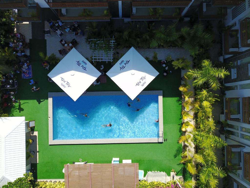 ザ サンクチュアリ ホテル リゾート アンド スパの敷地内または近くにあるプールの景色