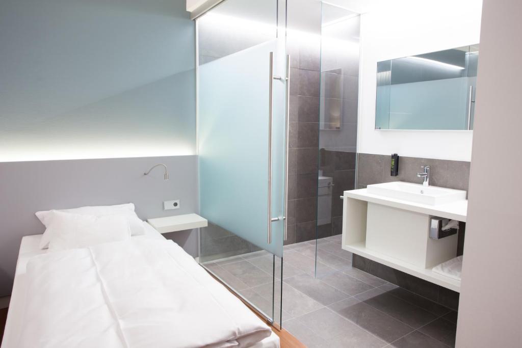 Ein Badezimmer in der Unterkunft Fairotel