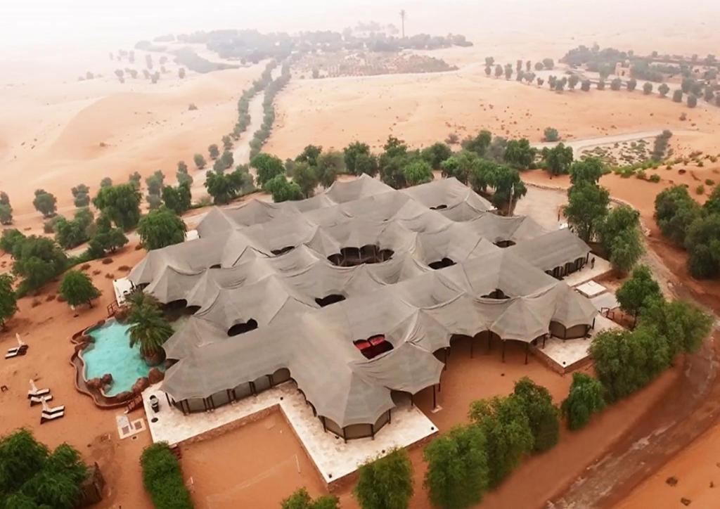 A bird's-eye view of Telal Resort Al Ain