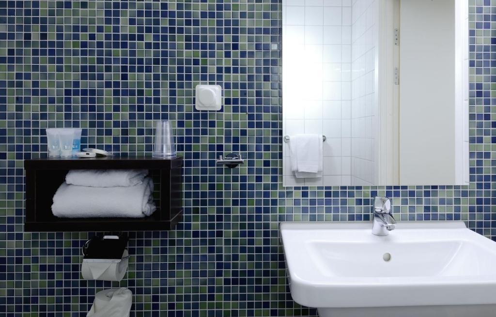 Ett badrum på Good Morning Lund