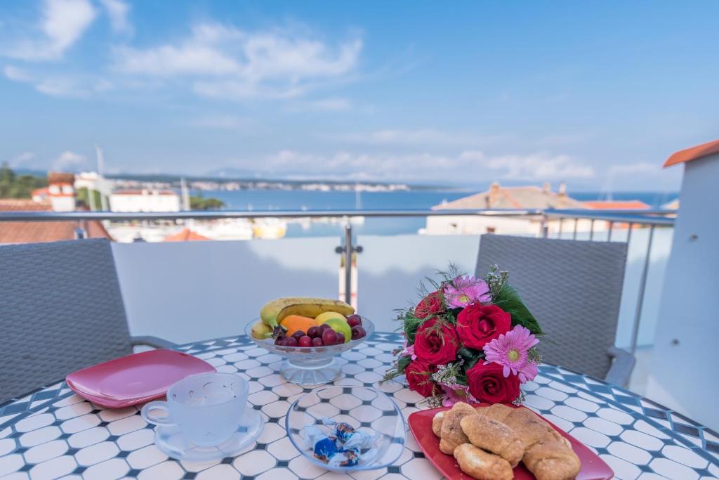 A balcony or terrace at Apartments Vila DK