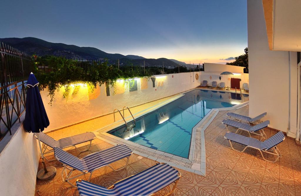 The swimming pool at or near Selena View Studios
