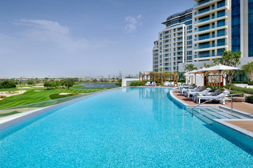 The swimming pool at or near Vida Emirates Hills