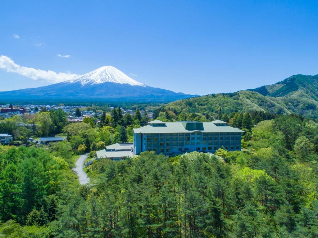 A bird's-eye view of Fuji View Hotel