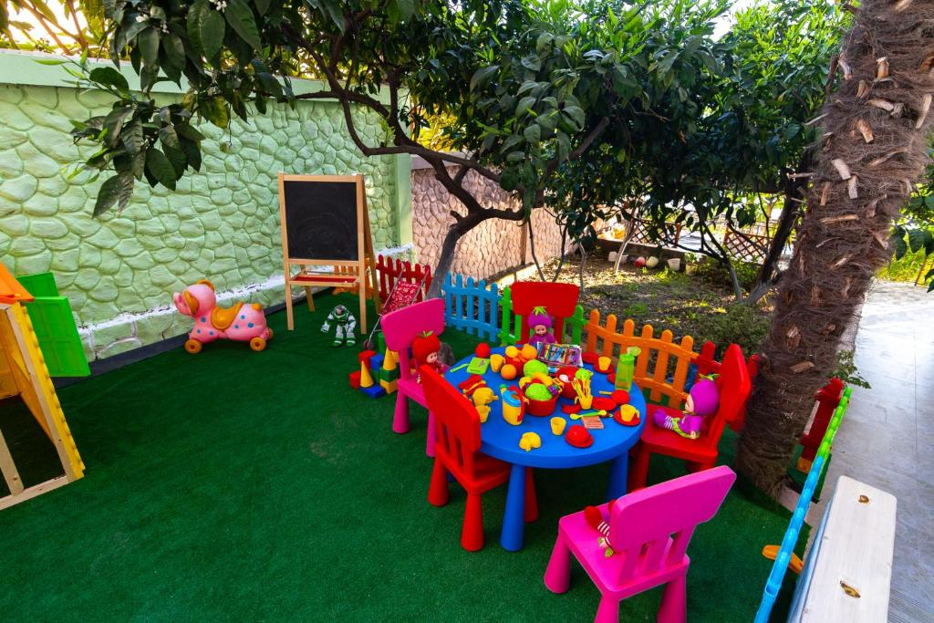 Children's play area at Zhasmin Guest House