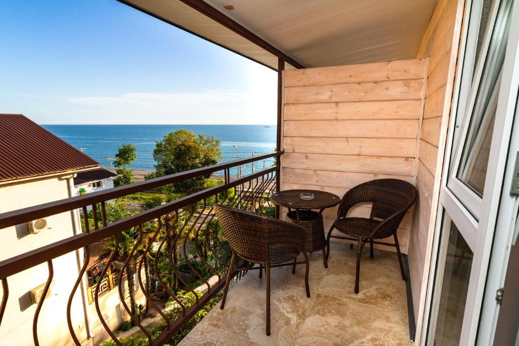 Балкон или терраса в Гостевой Дом Жасмин