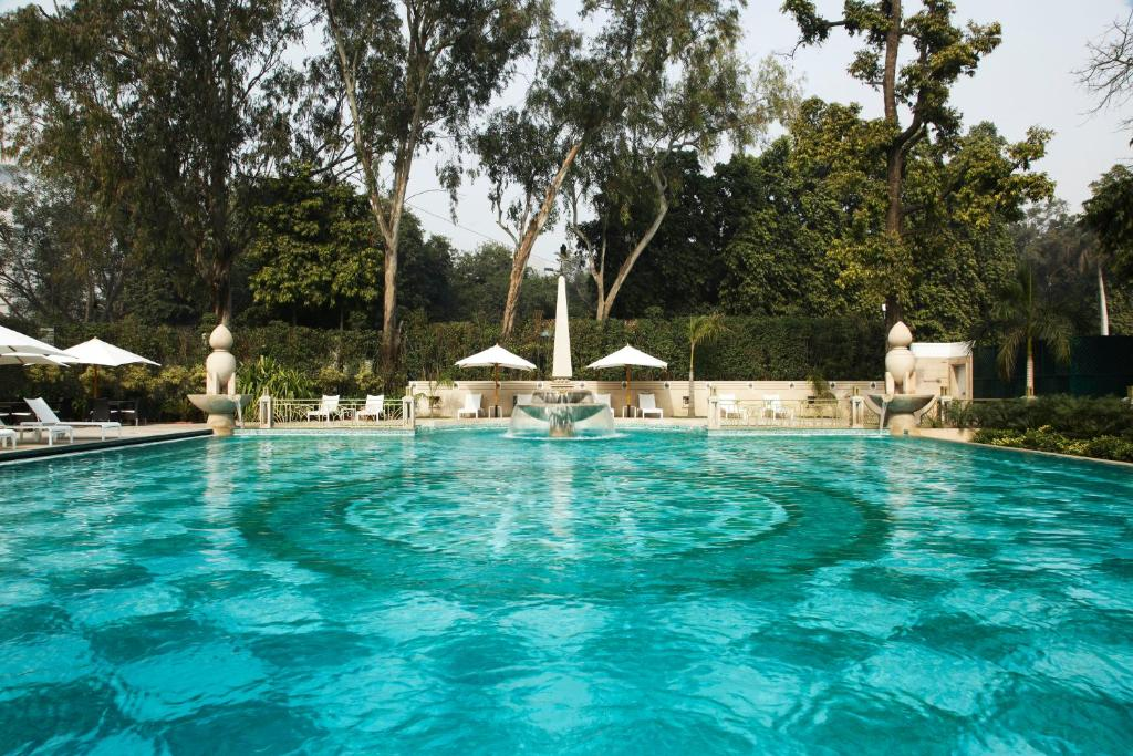 The swimming pool at or near The Imperial, New Delhi