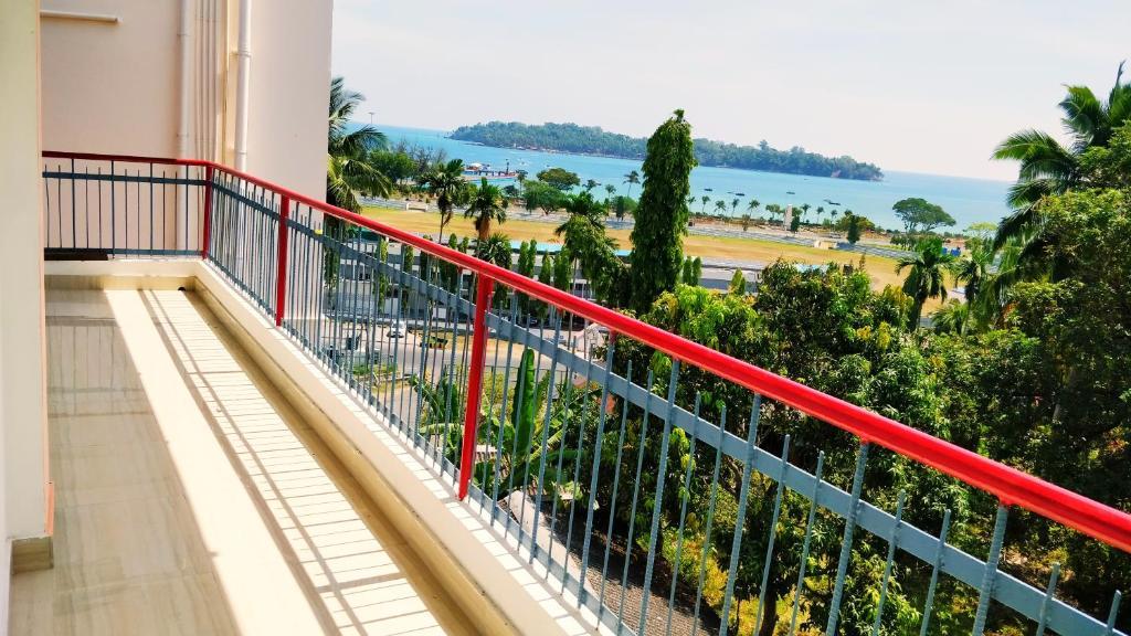 A balcony or terrace at Blue Bridge Homes