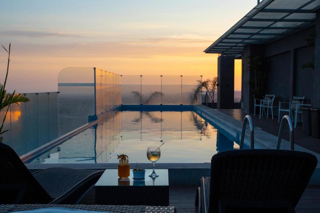 The swimming pool at or close to Casa Andina Select Tacna
