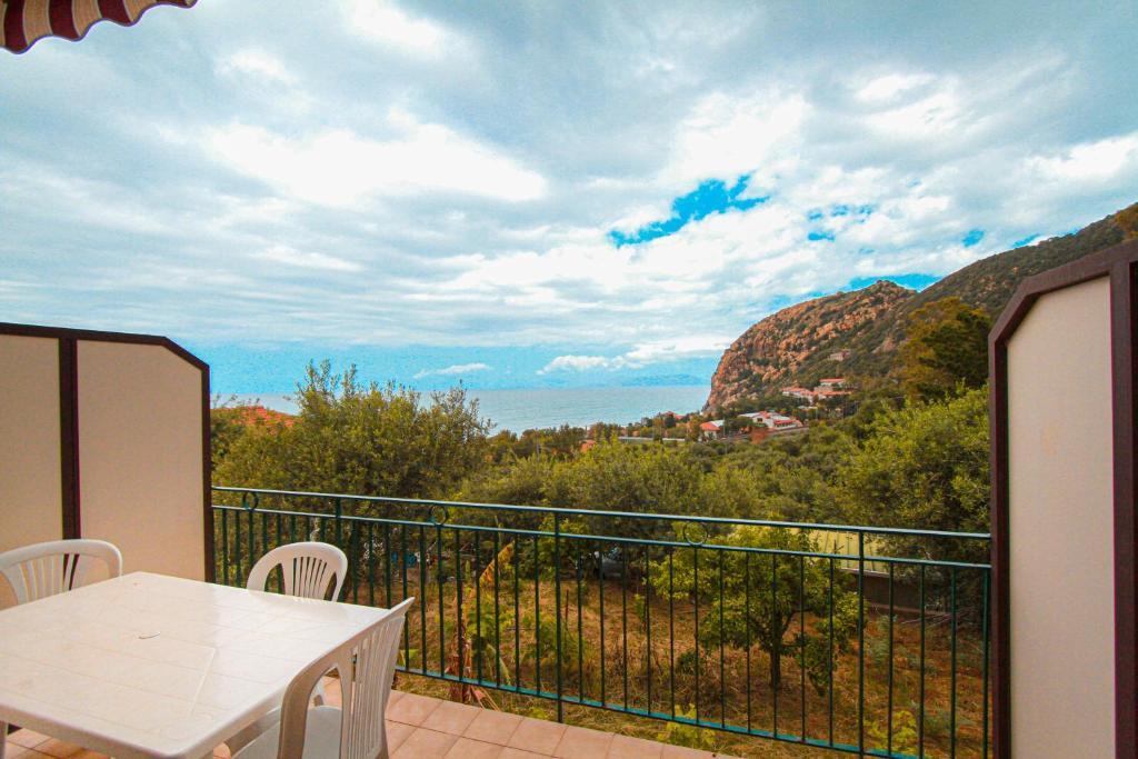 Balcone o terrazza di Residence Calavà