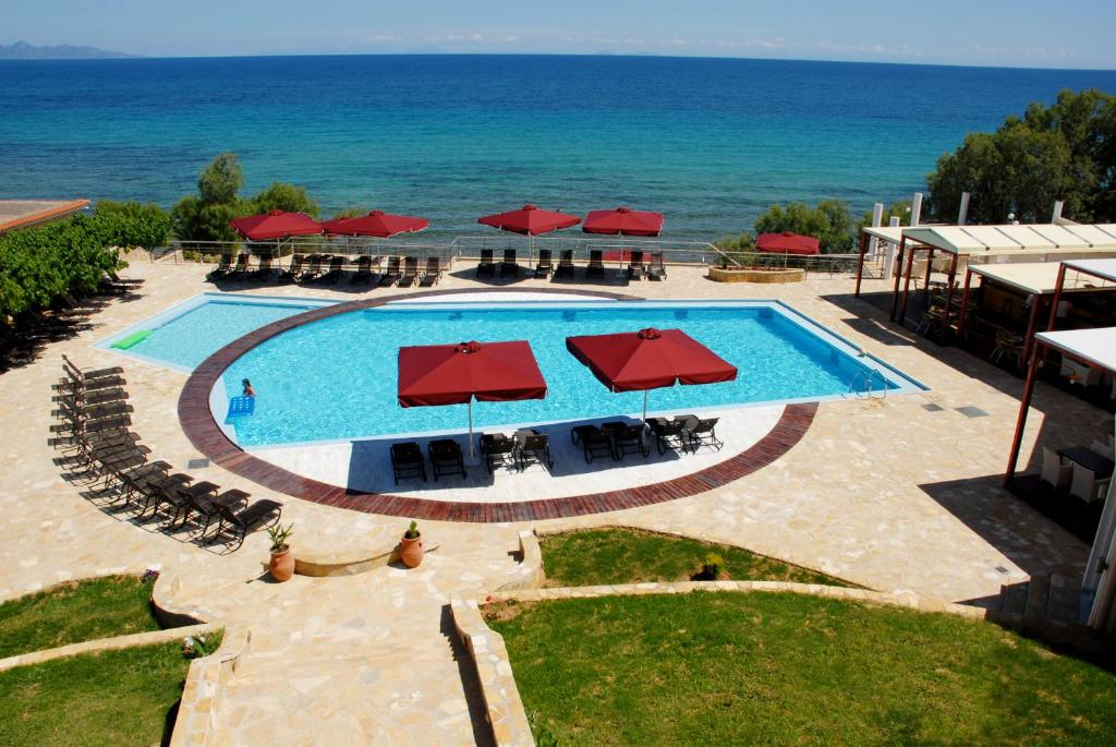 A view of the pool at Tsamis Zante Hotel & Spa or nearby