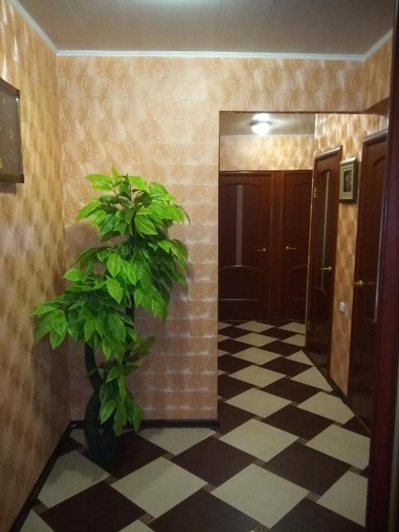 Ванная комната в Apartment in Vileyka