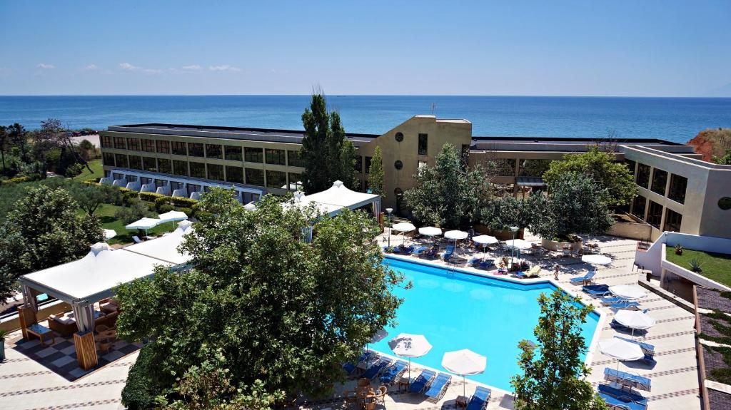 A view of the pool at Alexander Beach Hotel & Spa or nearby